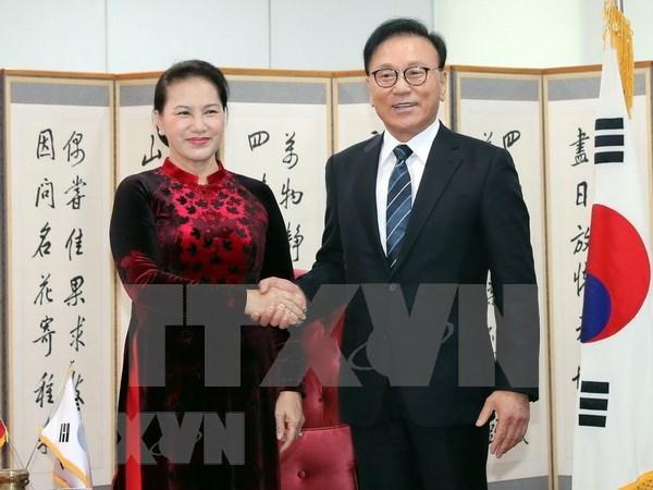 La presidente de l'AN recoit le consul general honoraire du Vietnam a Busan-Kyeongnam hinh anh 1