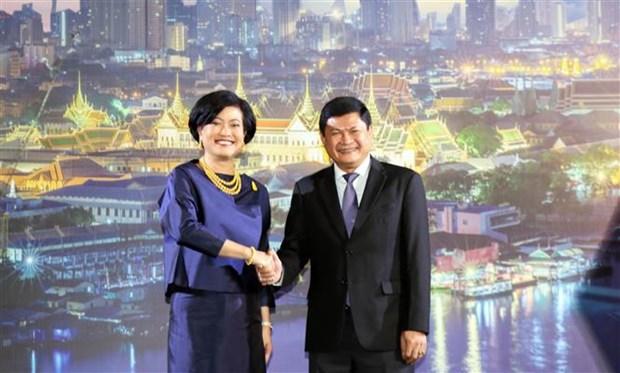 Meeting en l'honneur de la Fete nationale de Thailande a Ho Chi Minh-Ville hinh anh 1
