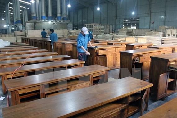 Exportations de bois et produits derives en hausse de 17,5% en onze mois hinh anh 1