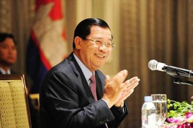 Le Premier ministre cambodgien entame sa visite officielle au Vietnam hinh anh 1