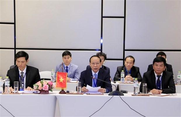 Intensification de la cooperation Vietnam-Laos-Cambodge dans la lutte contre la drogue hinh anh 1