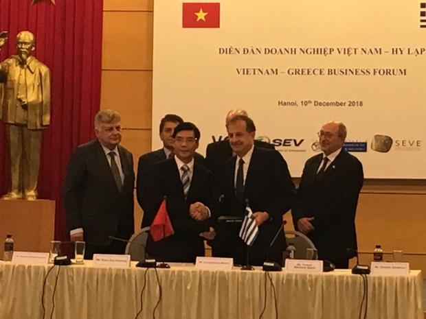 Forum d'affaires Vietnam- Grece 2018 a Hanoi hinh anh 1