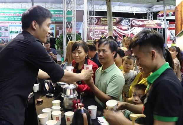 Dak Nong celebre la deuxieme Journee du cafe du Vietnam hinh anh 1