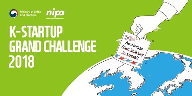 Une start-up vietnamienne remporte le troisieme prix de K-Startup Grand Challenge 2018 hinh anh 1