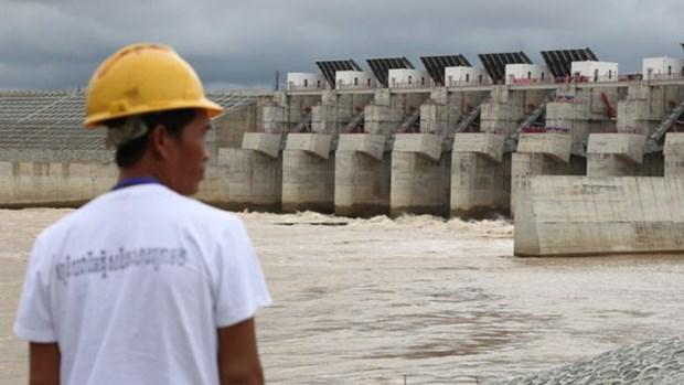 Le Cambodge inaugure son plus grand barrage hinh anh 1
