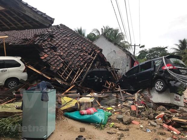 Tsunami en Indonesie : le bilan s'alourdit a plus de 1.000 morts et blesses hinh anh 1