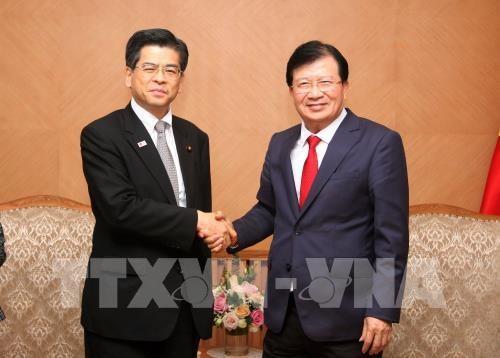 Vietnam et Japon renforcent leur cooperation dans le developpement des infrastructures hinh anh 1