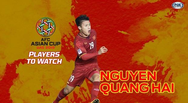 Asian Cup 2019 : Fox Sports Asia apprecie le role de Nguyen Quang Hai hinh anh 1