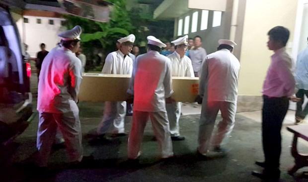 Attentat a Gizeh: les corps des victimes vietnamiennes ont ete rapatries hinh anh 1