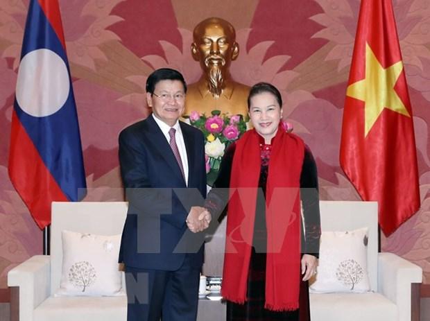L'Assemblee nationale vietnamienne soutient la cooperation gouvernementale Vietnam-Laos hinh anh 1