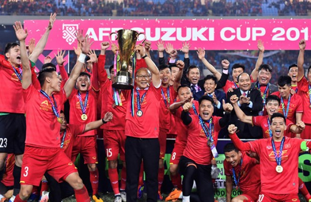 Football : la FIFA reconnait le record de 18 matches sans defaite de l'equipe du Vietnam hinh anh 1