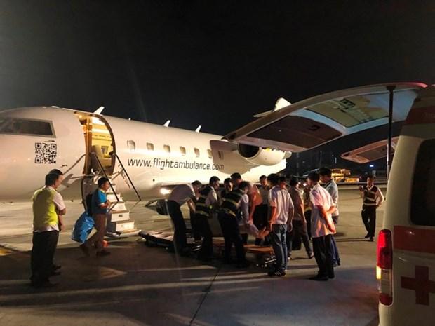 Attentat a la bombe en Egypte : les trois derniers touristes vietnamiens sont rentres au Vietnam hinh anh 1