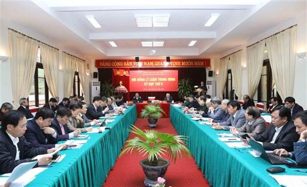 La 9e reunion du Conseil de theorie du mandat 2016-2021 hinh anh 1