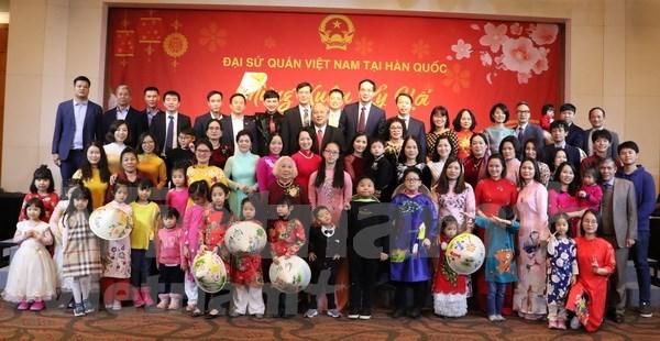 Celebration du Tet du Cochon en Republique de Coree et au Cambodge hinh anh 1