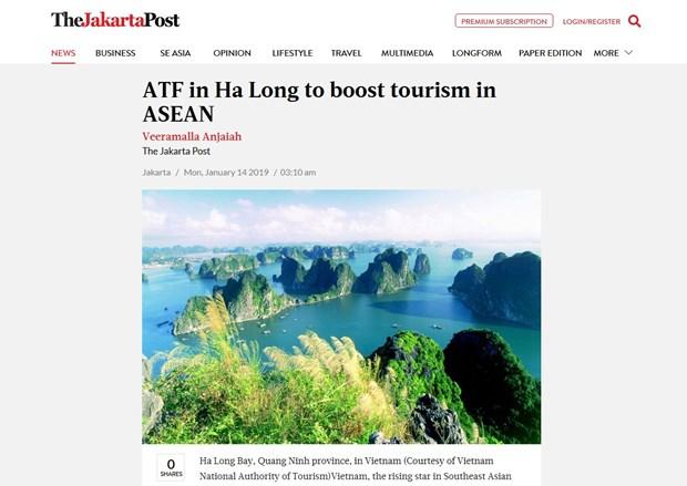 Jakarta Post : Le Vietnam, etoile montante du secteur du tourisme en Asie du Sud-Est hinh anh 1