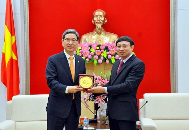 Des deputes sud-coreens en visite dans la province de Quang Ninh hinh anh 1