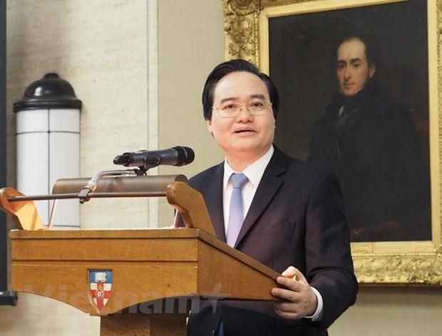 Le Vietnam et le Royaume-Uni renforcent leur cooperation dans l'education hinh anh 1