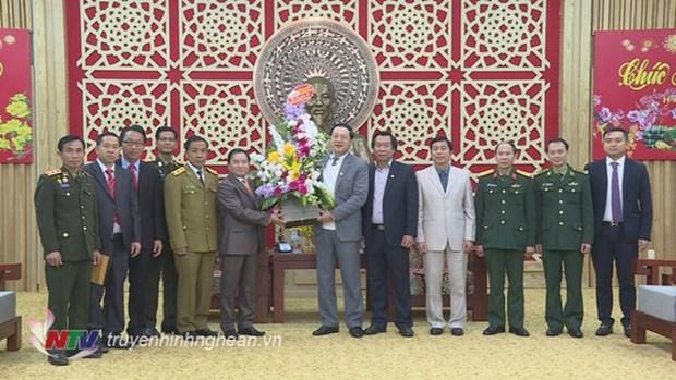 Renforcement de l'amitie entre le Laos et Nghe An hinh anh 1