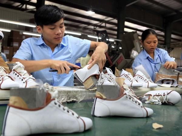 L'industrie vietnamienne du cuir et des chaussures poursuit sur sa lancee en 2019 hinh anh 1