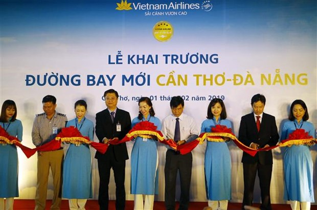 Vietnam Airlines ouvre la ligne Can Tho – Da Nang hinh anh 1