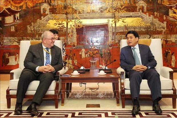 Hanoi favorise des projets de la Belgique hinh anh 1