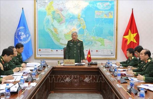 Maintien de la paix : le Vietnam prepare le deploiement d'une equipe du genie hinh anh 1