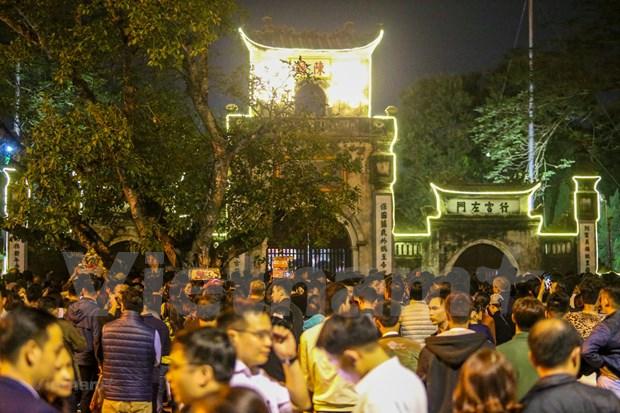 Nam Dinh: fete de l'ouverture des sceaux du temple des rois Tran hinh anh 1