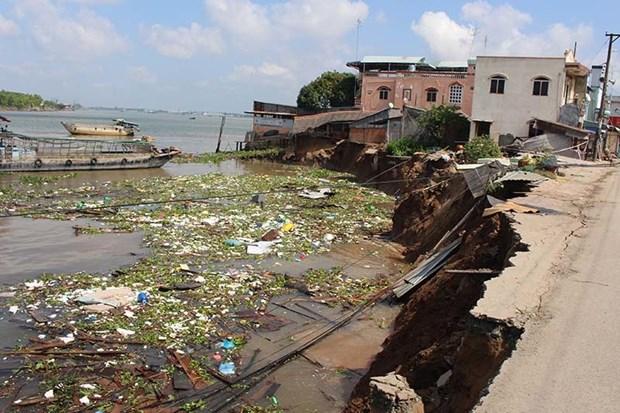 Climat: le Delta du Mekong pourrait disparaitre sous les eaux en 2100 hinh anh 1
