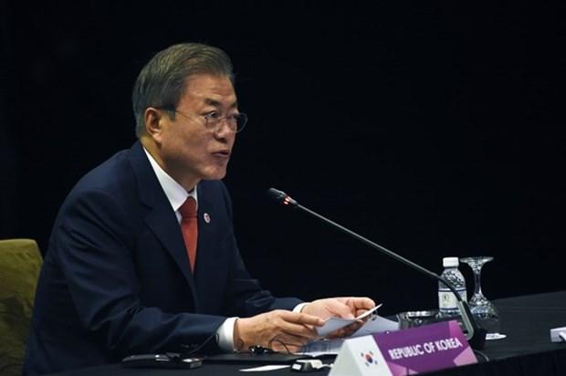 Le president sud-coreen affirme sa volonte de renforcer la cooperation avec l'ASEAN hinh anh 1