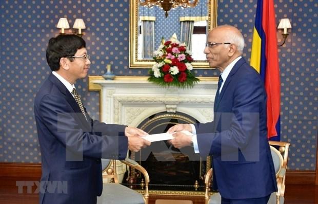 Le Vietnam et la Republique de Maurice intensifient leur cooperation multiforme hinh anh 1
