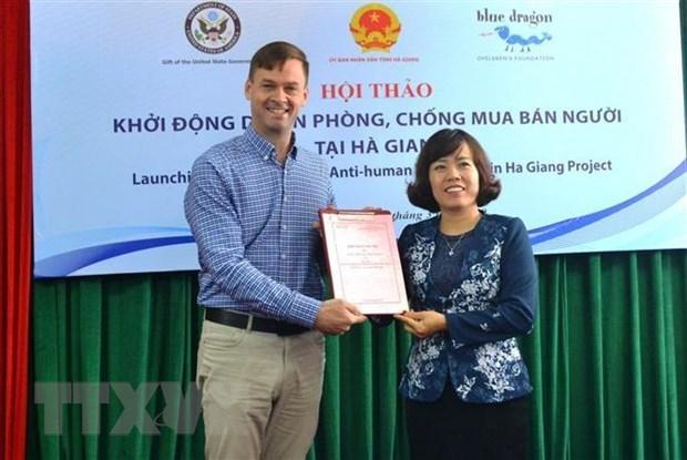 Ha Giang : Lancement d'un projet de lutte contre la traite des etres humains hinh anh 1