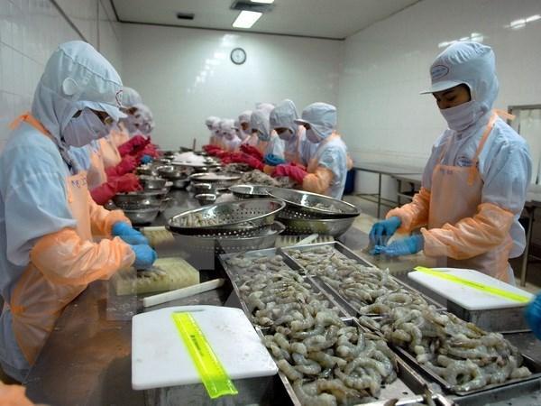La filiere crevetticole fixe l'objectif d'exportation de 4,2 milliards de dollars en 2019 hinh anh 1