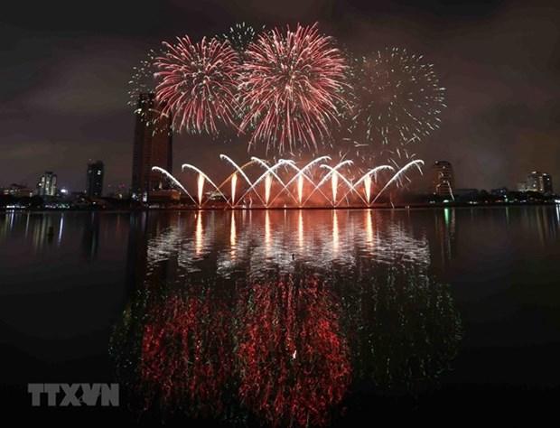 Le Festival international de feux d'artifice de Da Nang 2019 s'ouvrira en juin hinh anh 1