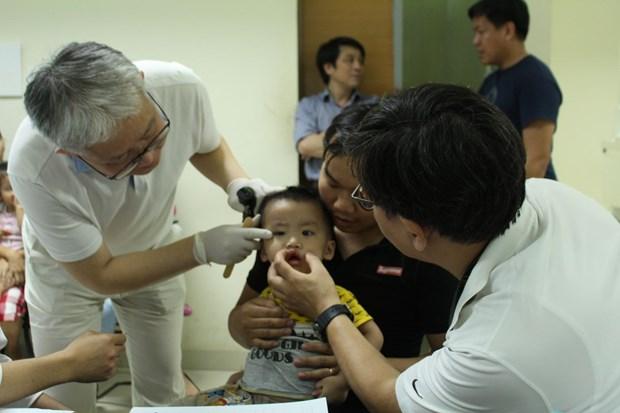 Global Care offre des operations gratuites a des enfants vietnamiens hinh anh 1