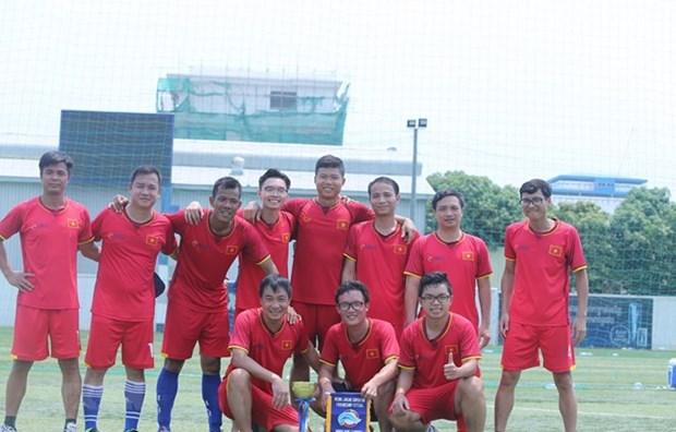Le Vietnam remporte le tournoi amical de futsal Mekong - Lancang 2019 hinh anh 1