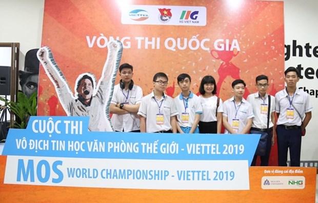 Qualification nationale du Championnat du monde MOS - Viettel 2019 hinh anh 1