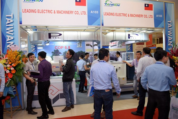 Plus de 250 entreprises a l'exposition internationale HVACR Vietnam 2019 hinh anh 1
