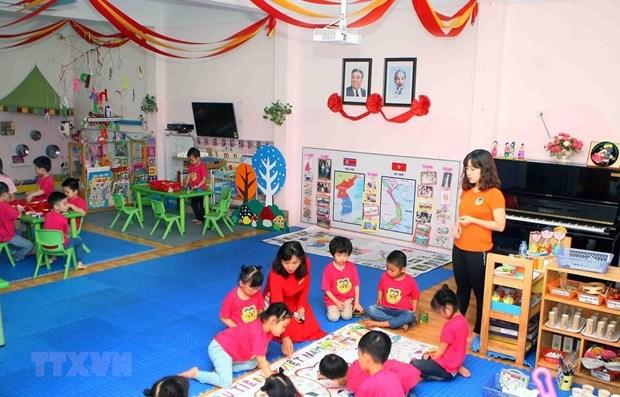 Vietnam-Republique de Coree : Echange entre deux ecoles maternelles hinh anh 1