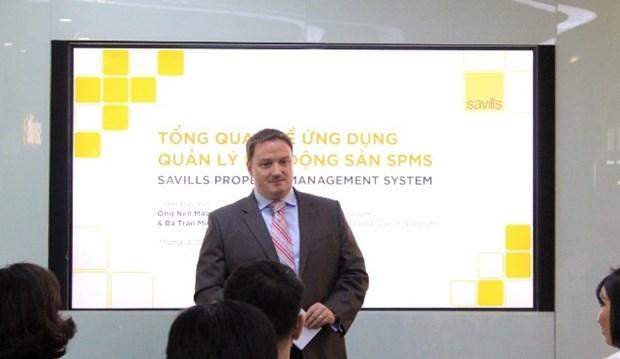 Savills Vietnam lance une application de gestion de projets immobiliers hinh anh 1