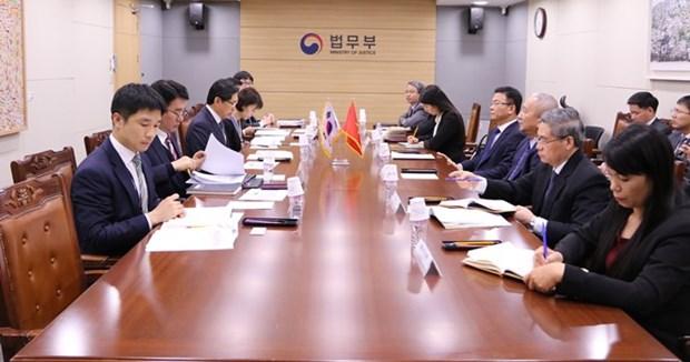 Vietnam et Republique de Coree renforcent leur cooperation judiciaire et legislative hinh anh 1