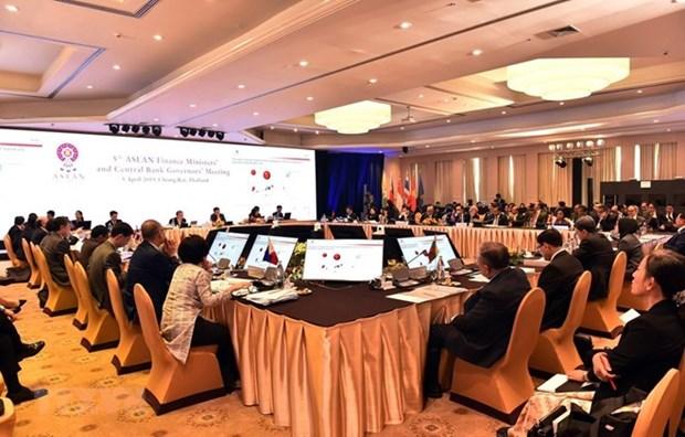 ASEAN : Les ministres des Finances et gouverneurs de banques centrales se reunissent en Thailande hinh anh 1