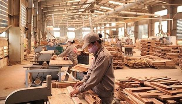Hausse de 18% des exportations de produits forestiers sur les quatre premiers mois hinh anh 1