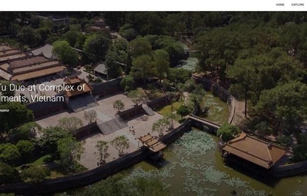 Le tombeau deTu Duc introduit sur la plateforme Google Arts & Culture hinh anh 1