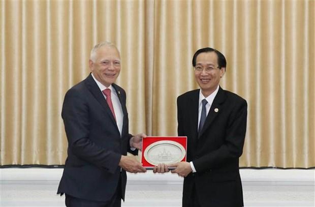 Ho Chi Minh-Ville et le Brabant Wallon (Belgique) renforcent leur cooperation hinh anh 1