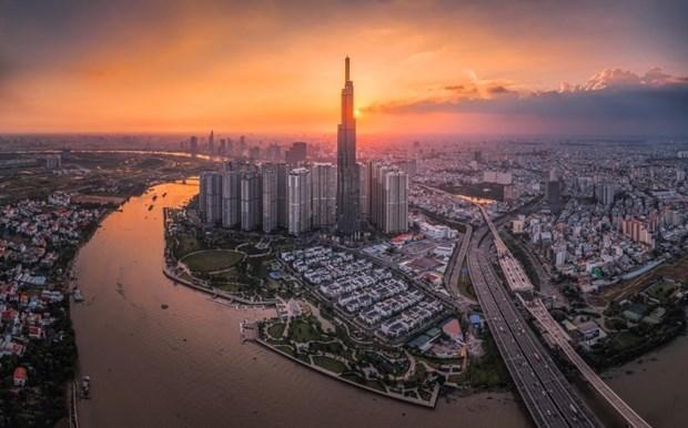 La plus haute terrasse d'observation d'Asie du Sud-Est inauguree a Ho Chi Minh-Ville hinh anh 1