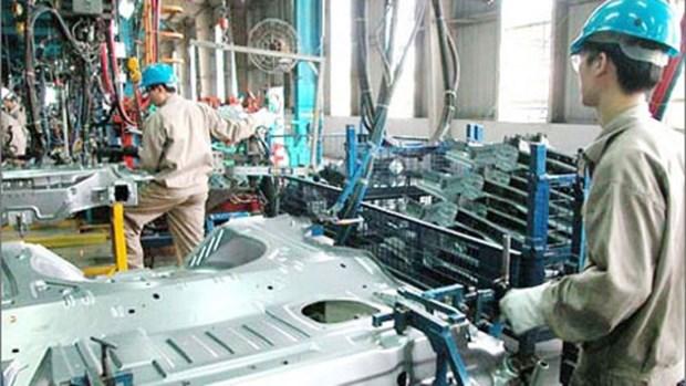Avril: l'indice de production industrielle en hausse hinh anh 1
