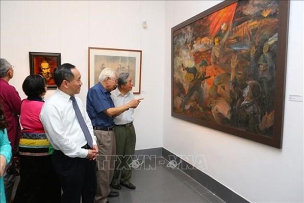 Exposition sur la campagne de Dien Bien Phu au Musee national des beaux-arts hinh anh 1