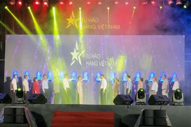 Lancement de la semaine d'«Identification des produits vietnamiens » a Ho Chi Minh-Ville hinh anh 1