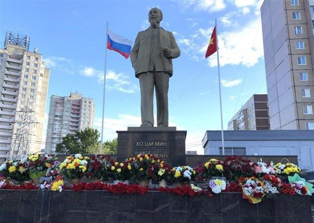 Activites de celebration du 129e anniversaire du President Ho Chi Minh a l'etranger hinh anh 1