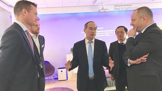 Ho Chi Minh-Ville se renseigne sur des solutions technologiques et d'innovation des Pays-Bas hinh anh 1